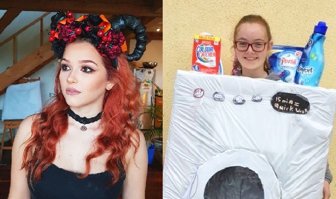Washing Machine Cleans Up - Sew Scary Halloween Costume Competition 2018