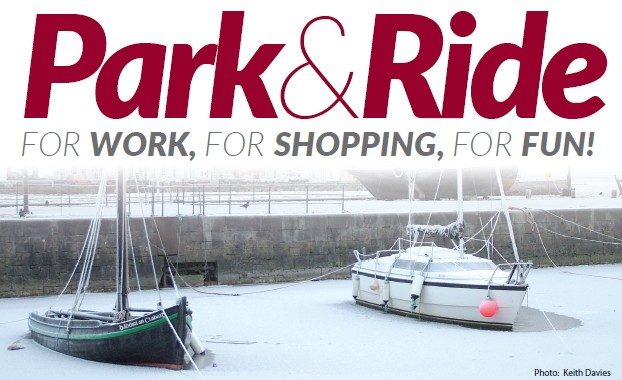 Galway City Council Christmas Park & Ride from Saturday 1st December for €1 per person each way (children travel free).