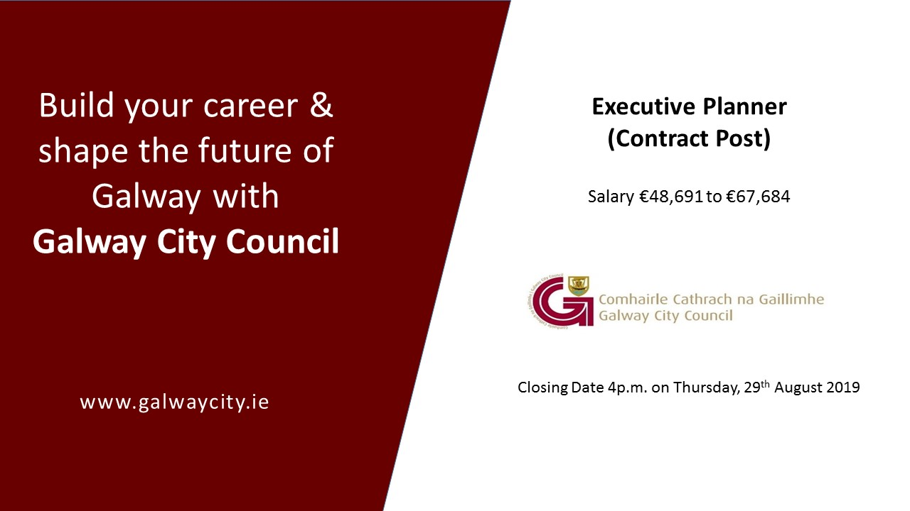 Staff Vacancy - Executive Planner (Contract Post)