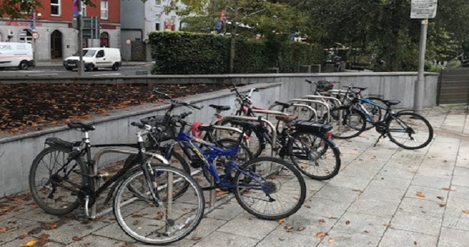 Cycle Parking Changing Gear – 160 cycle parking spaces installed in September and October in Galway City