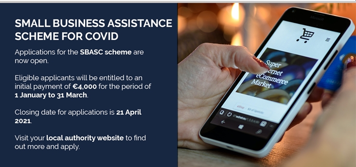 Closing Date Approaching: Small Business Assistance Scheme for COVID (SBASC)