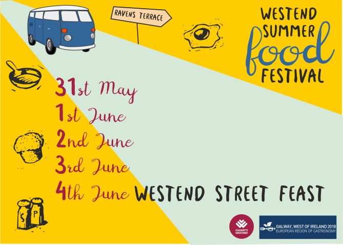 A Raven Weeklong Street Feast for Galway's Westend – Thursday 31st May – Monday 4th June (inclusive)