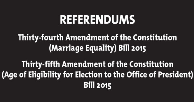 Referenda 2015 - Official Notification from the Department of the Environment, Community & Local Government
