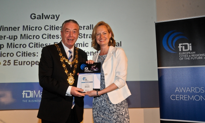 Galway City Named Europe's Micro City of the Year