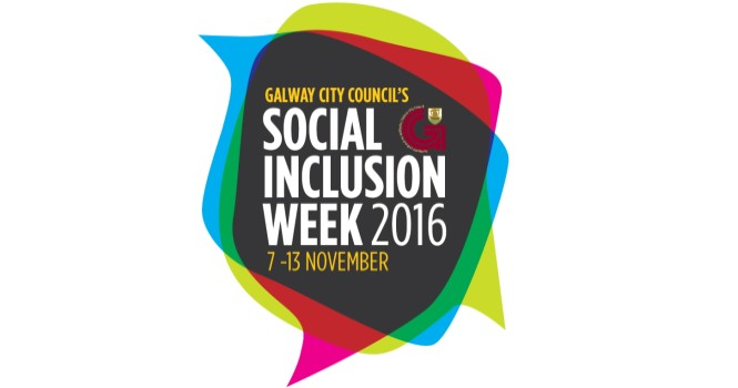 Galway City Council's Social Inclusion Week 2016, 7 - 13 November
