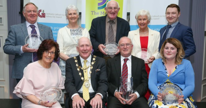 Brendan Smith announced as the Galway City Council Volunteer of the Year