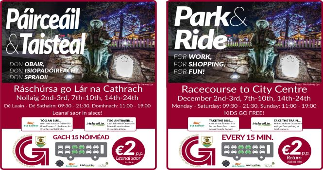 Galway City Council's Christmas Park & Ride